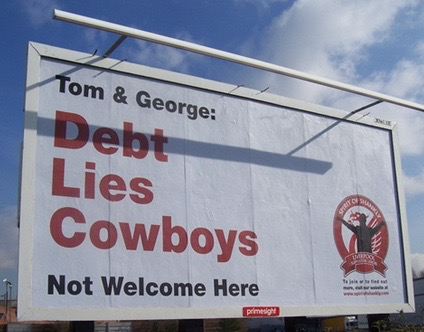 Debt, lies, cowboys hoarding
