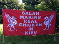 Salah making real chicken