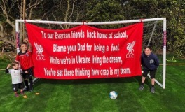 To our Everton friends