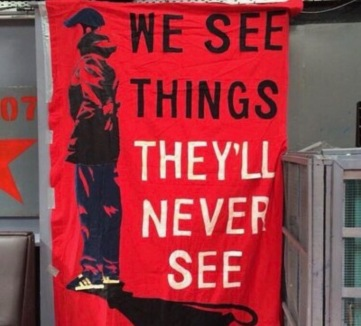We see things