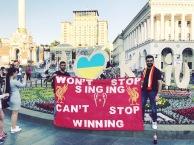 We won't stop singing